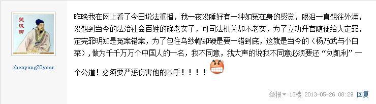 猫眼看人; 《今日说法》曝辽宁省黑山县刘凯利杀人案引起关注 【猫眼